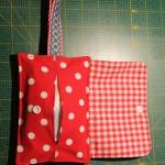 kleine Tasche für Fruchttücher